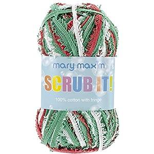 Mary Maxim Scrub it Yarn, Holiday