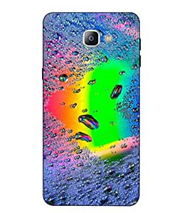 Case Cover Heart Printed Multicolor Soft Back Cover For SAMSUNG Galaxy A9 Pro