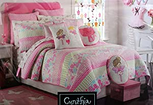 Amazon.com - Cynthia Rowley Full / Queen Girl's Quilt -- Fairy Wishes