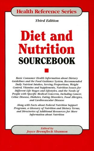 Diet and Nutrition Sourcebook (Health Reference Series)