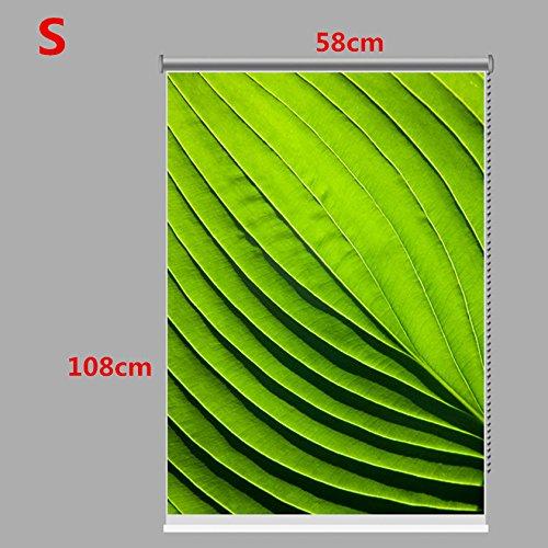 bluelover-pag-foglia-verde-wall-decor-finestra-tenda-rullo-tapparelle-dipinto-di-stampa-tenda-a-rull