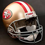 SAN FRANCISCO 49ers NFL Riddell Full Size REPLICA Football Helmet