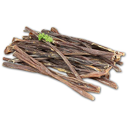 Artikelbild: Kau-Sticks 150g so dünn wie Spaghetti für den Hund aus herzhaften Schweinedärmen ein fleischiger Kauspass