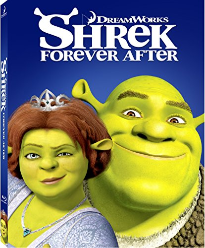 Shrek Forever After Blu-ray w/ Family Icons Oring