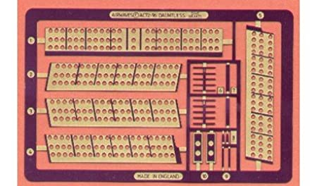 Freins de plongée de Douglas Dauntless (pour maquettes Hasegawa)