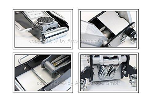 TT6925S-Aluminium-Wagenheber-25-Ton-85mm-440mm-mit-Quicklift-fr-Racing-Sportwagen-Rennsport