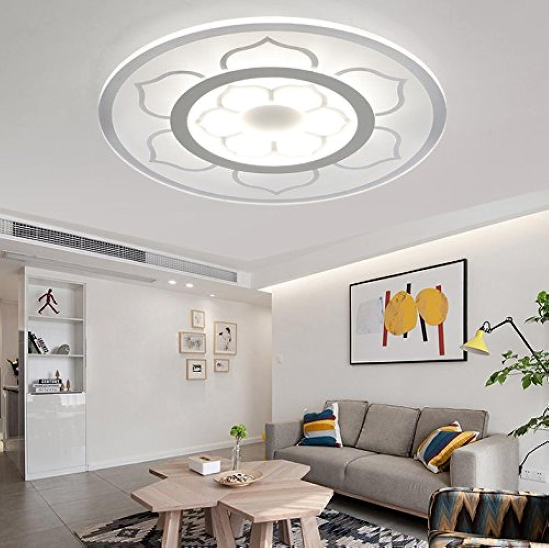 Ultimate Guide To Bedroom Ceiling Lights: Led Ceiling Lamp Slim Minimalist Living Room Lamp Creative