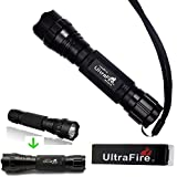 UltraFire®1 000 Lumen Cree 501b T6 LED Flashlight Torch (Flashlight ONLY)