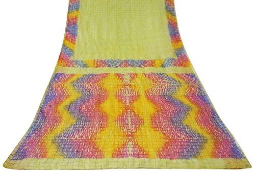 ethnique-vintage-saree-100-pure-soie-indienne-imprime-floral-utilise-sari-craft-tissu