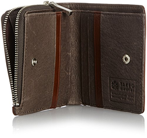 [タケオキクチ] 二つ折り財布 ピエール 181613 CHO チョコ