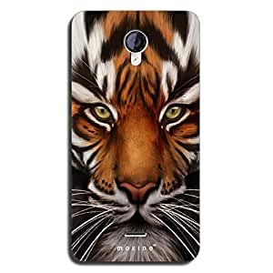 Mozine Cat Eye Printed Mobile Back Cover For Micromax Unite 2 A106