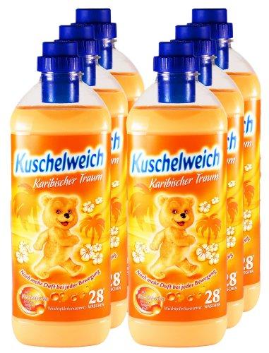 pack-of-6-fabric-softener-caribbean-dream-6000-ml-for-168-uses