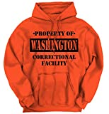 Property of Washington, DC Correctional Facility Hoodie