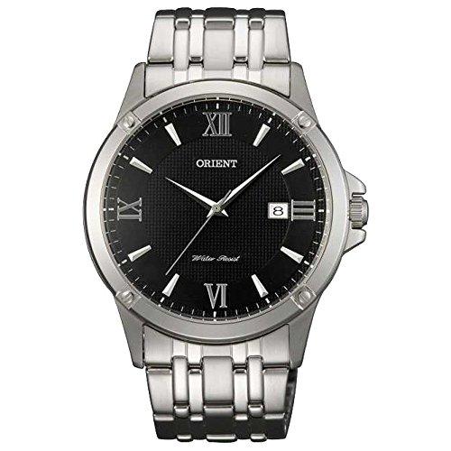 Orient FUNF4003B0 40mm Silver Steel Bracelet & Case Mineral Men's Watch