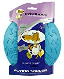 (CYBER-DOG) Flying Saucer Dog Toy Blue