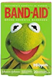 Band-Aid Brand Adhesive Bandages featuring the Muppets, 20 Count (Pack of 3)