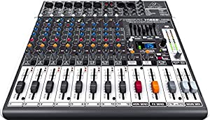 Behringer XENYX X1222USB Premium 16-Input 2/2-Bus Mixer with XENYX Mic Preamps & Compressors