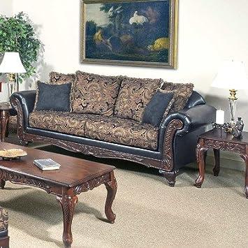 Sofa Fabric: San Marino Chocolate / Silas Raisin