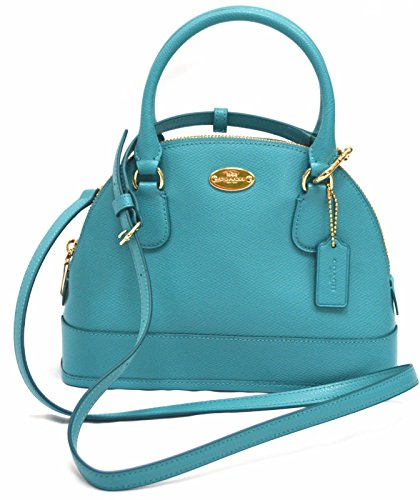 Coach BiColor Crossgrain Mini Cora Dome Satchel 34090