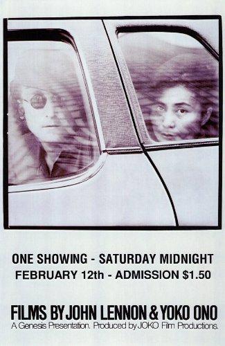 Films By John Lennon&Yoko Ono -映画ポスター - 11 x 17
