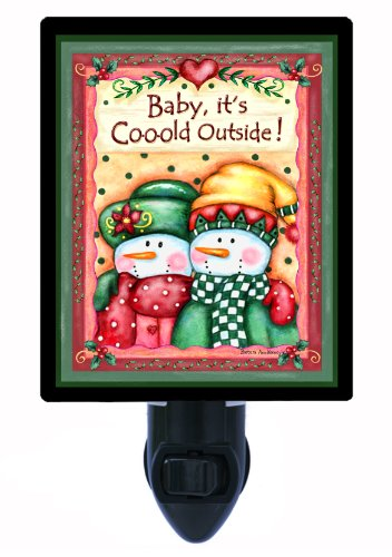 Snowman Night Light - Baby It'S Cold Outside front-1044632