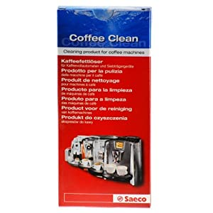 Saeco Coffee Clean, Coffee Fat Remover, 10 Tablets by Saeco