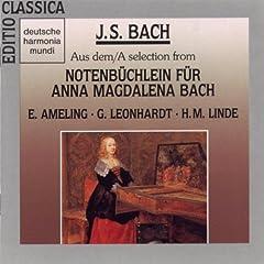 "Bach:Werke aus dem ""Notenb�chlein f�r Anna M. Bach"