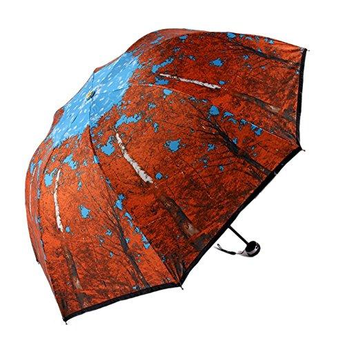 [KROGL KROGL044C1 Maple Women Umbrellas] (Traveling Circus Costume)
