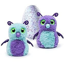Hatchimals - Hatching Egg - Interactive Creature - Burtle - Purple/Teal Egg - Exclusive