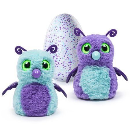 Hatchimals Hatching Egg Interactive Creature (Burtle)- Purple/Teal Egg