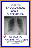 What you should know about sleep apnea. An easy to understand guide.