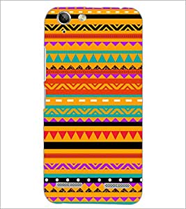 PrintDhaba Pattern D-5248 Back Case Cover for LENOVO A6020a46 (Multi-Coloured)
