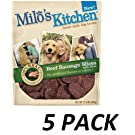 Milo's Kitchen Dog Treats, Beef Sausage Slices with Rice, 12.5-Ounce Package
