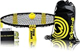 Spikeball 1 Ball Game Set - As Seen on Shark Tank - Played Outdoors, Indoors, Yard, Lawn - Includes Playing Net, 1 Ball, Drawstring Bag And Rule Book - Great Gift for Boys, Girls, Teens, Kids, Family