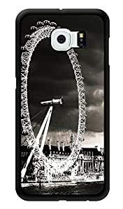 """Humor Gang London Eye View Printed Designer Mobile Back Cover For """"Samsung Galaxy S6"""" (3D, Glossy, Premium Quality Snap On Case)"""