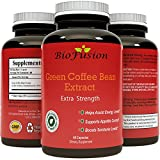 Pure Green Coffee Bean Extract Supplement - Best For Weight Loss & Safe Appetite Suppressant - 800 mg with 50% Chlorogenic Acid + Best Energy Booster + Advanced Natural Potent Formula - 60 Capsules