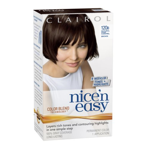 Clairol Nice 'N Easy Hair Color 120B Natural Dark Caramel Brown 1 Kit (Pack Of 2) front-1073847