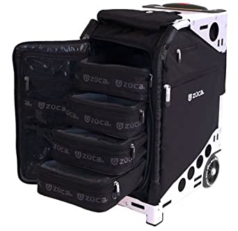 Amazon.com: Zuca Pro Artist Case (Black), Black Insert Bag on Silver