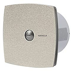 Havells Vento Jet-15 Auto Inox 150mm Exhaust Fan (Grey)