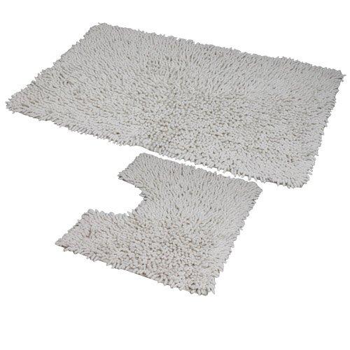 jvl-coral-lot-de-2-tapis-de-bain-lavables-en-machine-blanc-50-x-80-cm-et-50-x-40-cm