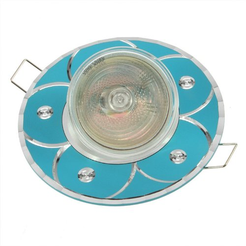Generic New Mr16 Ac 220V 35W Led 7001 Warm White Home Decor Spotlight Blue