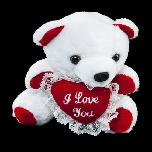 White Bear with Red Heart