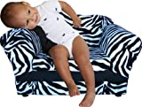 Fantasy Furniture Wave Chair, Zebra