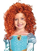 Party Hair's exclusive Merida long red hair wig brave mireda mereda
