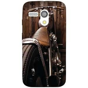 Motorola Moto G Back Cover - Wheel Designer Cases