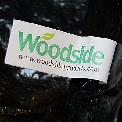 Woodside - Abdeckplane für Zweisitzer-Hollywoodschaukeln - Wasserdicht - Schwarz von Woodside - Gartenmöbel von Du und Dein Garten