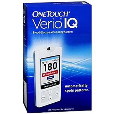 One Touch Verio International IQ Blood Glucose Monitoring System