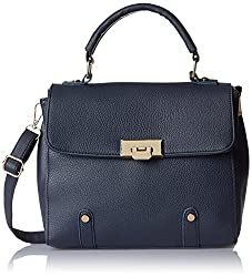 Lino Perros Women's Handbag (Blue)