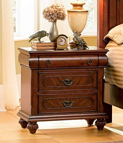 Isabella Bedroom Collection Solid Hardwood Night 
