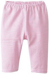 Zutano Unisex-Baby Newborn Candy Stripe Pant, Hot Pink, New Born/Preemie